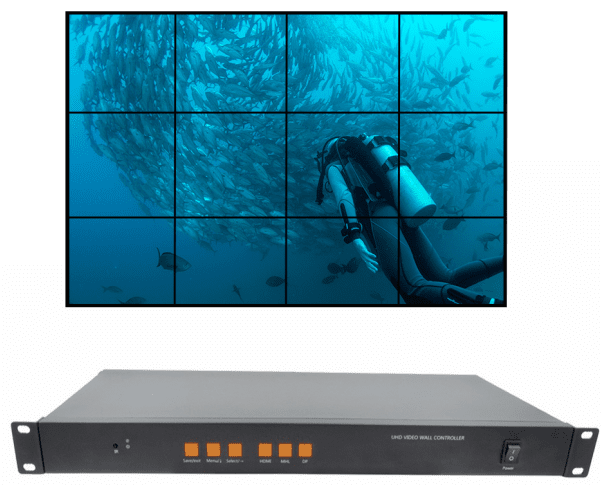 WolfPack 4K/60 3x4 Video Wall Processor