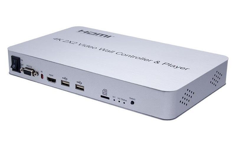 WolfPack™ 4K 2X2 HDMI Video Wall Controller