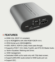 WolfPack™ 4K 60 HDR HDMI eARC Extractor