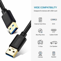 WolfPack™ Male USB to Male USB Cables