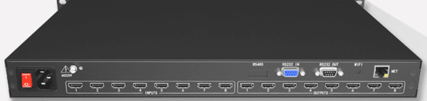 WolfPack 4K 8x8 HDMI Matrix Router w/Control4 Drivers