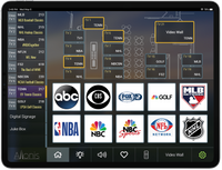 Sports Bar DirecTV™ iPad Control System