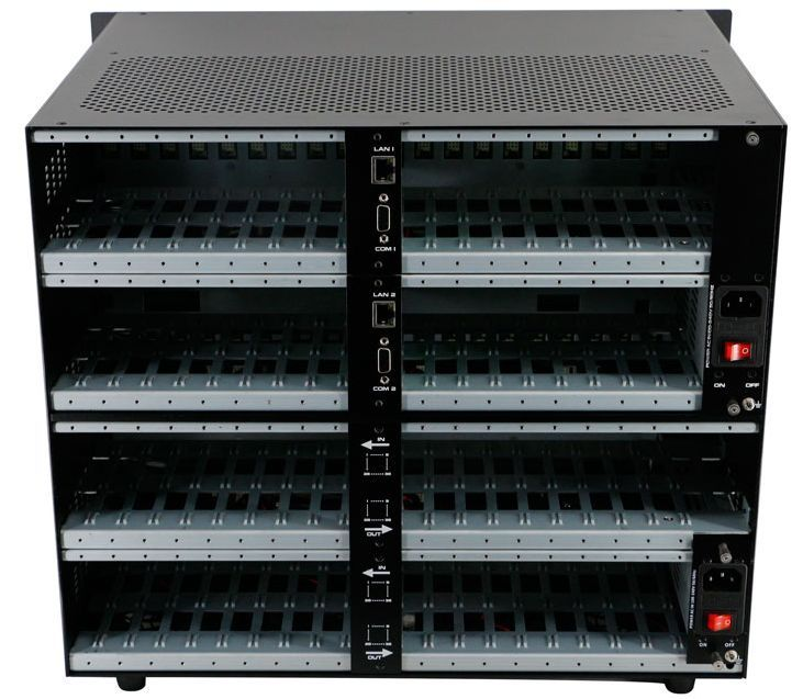 Used WolfPack Empty 36x36 Modular Matrix Chassis