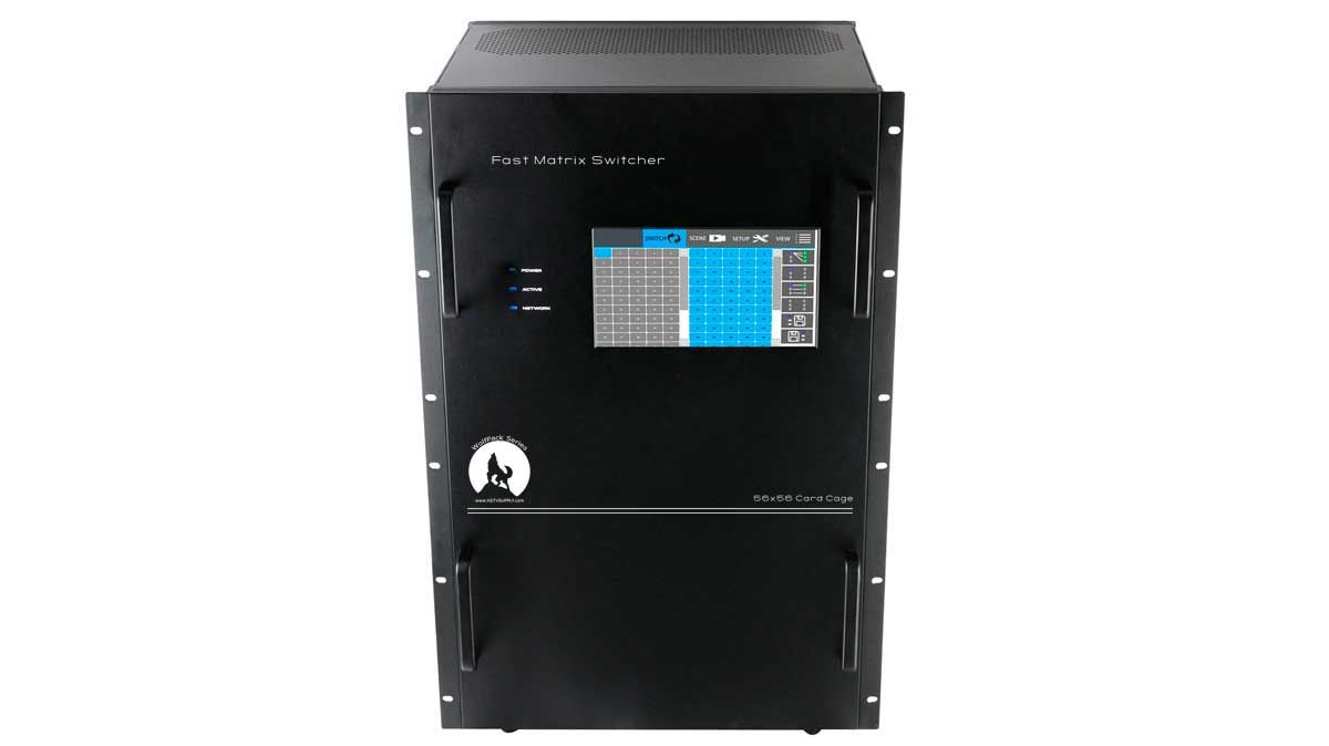 Used WolfPack Empty 56x56 Modular Matrix Chassis
