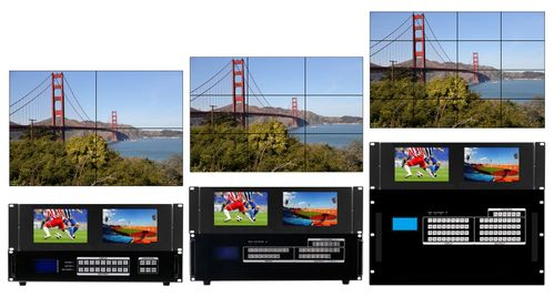 WolfPackGold HDMI Matrix Switchers with Video Wall Functions