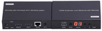 WolfPack HDMI Over LAN Receiver w/POE, Remote Control, HDMI Loopout, IR & LED Display