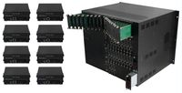 Build Your Own Seamless HDMI Matrix Switcher from 3-Chassis Sizes