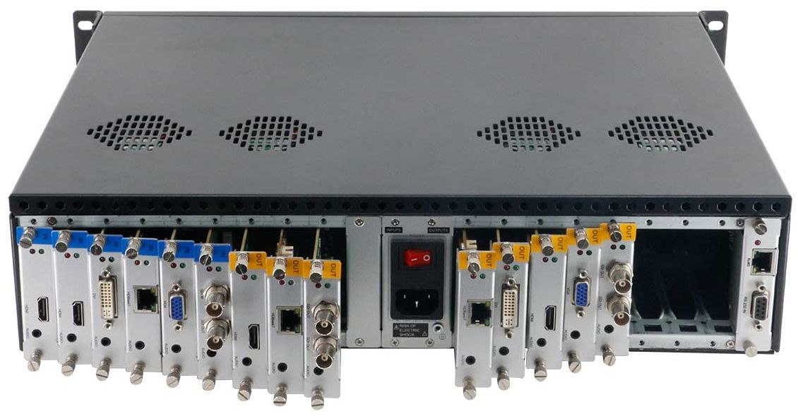 WolfPack Seamless HDMI Matrix Switcher with Video Wall Function