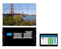 WolfPackGold 12x20 HDMI Matrix Switch with a Video Wall Function