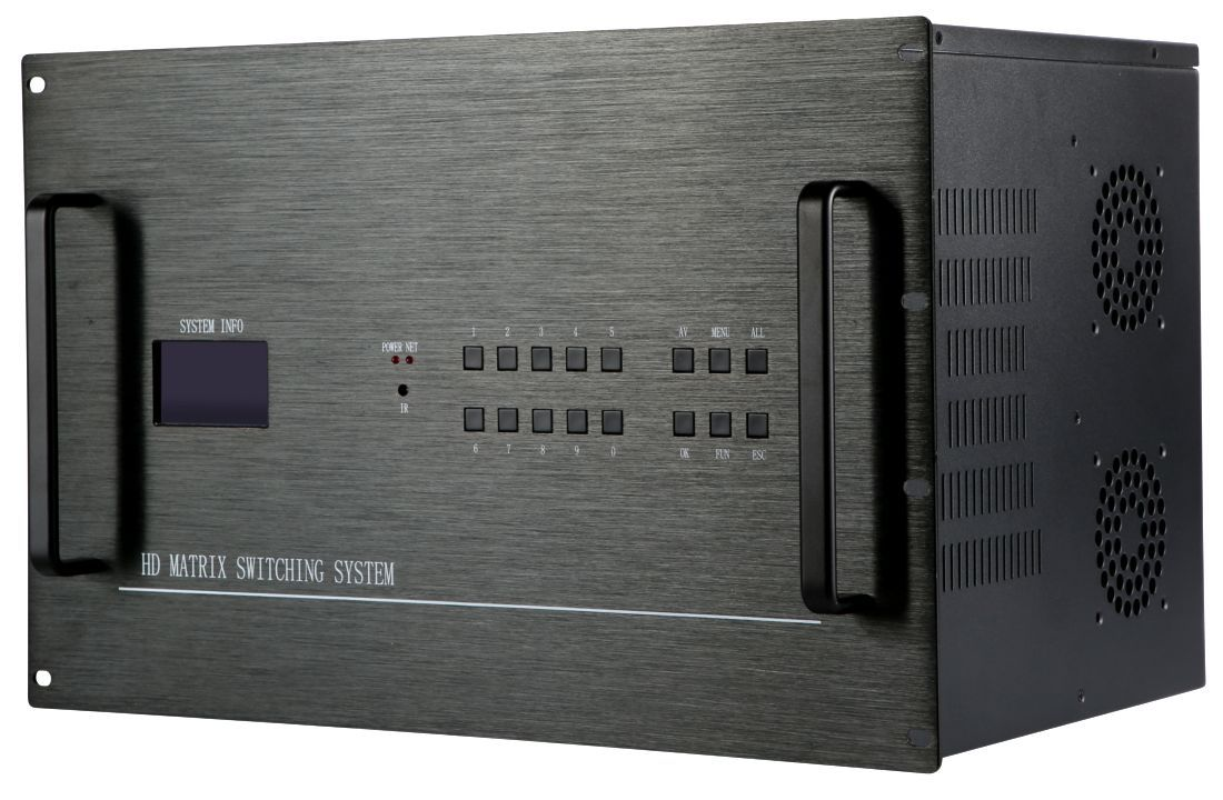 4K 28x8 HDMI Matrix Switcher