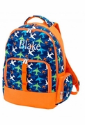 Airplane Backpack for Kids | Monogram