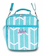 Arrow Pattern Lunch Tote Bag   Personalized