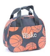 Basketball Lunch Tote Monogram