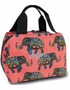 Boho Elephant Lunch Tote | Personalized