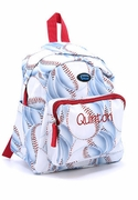 Boys Preschool Backpack Personalized - Baseball