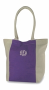 Cotton Canvas Travel Bag | Monogrammed