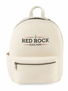 Custom Logo Cotton Backpack - 25 pc minimum