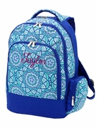 Embroidered Backpack | Boho Pattern