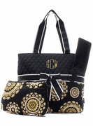 Embroidered Diaper Bags for Mom