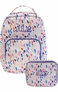Embroidered Girls Backpack with FREE Lunch Tote