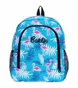 Flamingo Backpack Monogrammed