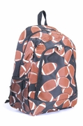 Football Backpack Monogrammed