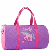 Girls Duffle Bag - Unicorn