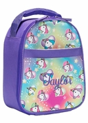 Girls Unicorn Lunch Tote | Personalized
