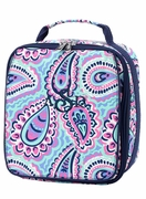 Insulated Lunch Bag - Paisley
