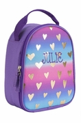 Monogram Heart Lunch Bag