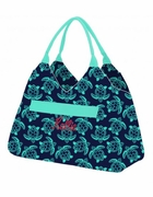 Monogram Ladies Summer Turtle Tote Bag
