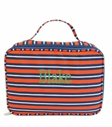 Monogram Stripe Lunch Tote