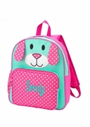 Monogrammed Kids Backpack | Pink Puppy