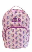Monogrammed Unicorn Backpacks