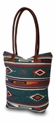 Native American Shoulder Tote Bag | Embroidered