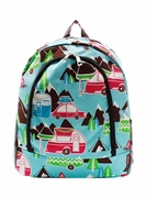 Pattern Camping Backpack | Personalized | Embroidered