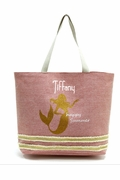Personalized Beach Totes |  Mermaid