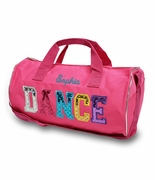 Personalized Dance Duffle Bag