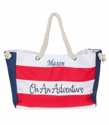 Personalized Large Summer Beach Bag