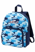 Pre-school Camo Backpack for Boys | Monogram