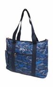 Sea Marine life Beach Bag | Embroidered