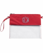 Stadium Clear Cross Body Bag | Monogram | 2 Colors