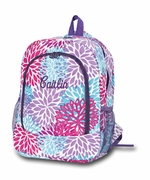 Starburst Flower Backpack | Monogram