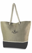Stylish Summer Tote Bag | Personalized - 2 Colors
