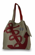 Summer Weekender Anchor Tote Bag | Personalized