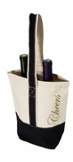 Two Bottle Cheers Wine Tote