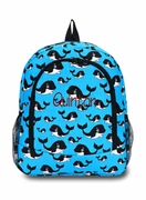 Whale Backpack | Monogram