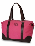 Woman's Canvas Duffle Bag