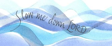 Slow Me Down Bookmark