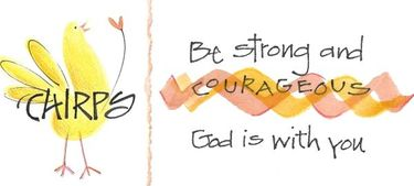 Strong & Courageous Bookmark